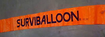 SURVIAL BALLOON 6 FEET / SAFETY BALLOON/ ALERT MARKER DIVE SCUBA