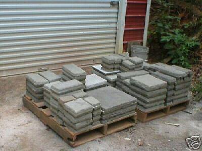 2 Of 10 29 Castle Stone Molds   10 Sizes Concrete Patio Pavers Floors Walls  Garden Rock