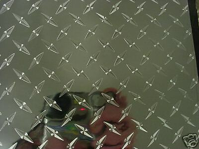 HEAVY-DUTY Plastic Diamond Plate Sheeting, self-adhesive, 24 x 36 Inch