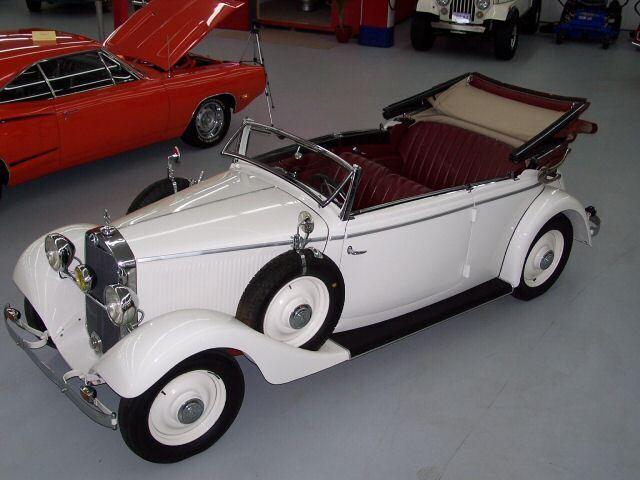 1937 Mercedes Cabriolet