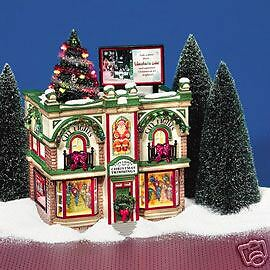 Dept 56  Snow Village  City Lights Christmas Trimmings