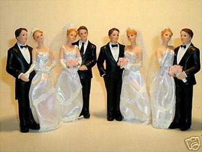 Brautpaar m.Textilrock  Hochzeit, sehr hübsch gemacht %