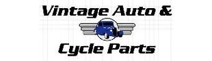 Vintage Auto and Cycle Parts