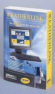 DAVIS WEATHERLINK & DATALOGGER - 6510 USB 6510USB NEW