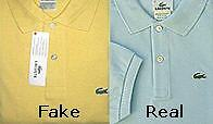 Lacoste jacke fake