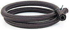 -6 AN Pro's Lite Black Nylon Braided Fuel Line Hose 750 PSI